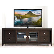 Abbyson Living Barrington Entertainment Console -  Brown