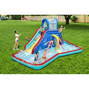H2OGO! Waterfall Waves Mega Kids Inflatable Water Park
