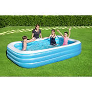 Bestway 10' Rectangular Inflatable Family Pool