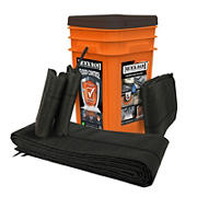 Quick Dam Grab & Go Bucket Water Activated Flood Barriers
