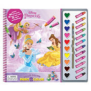 Disney Princess Deluxe Poster Paint & Color