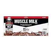 Muscle Milk Genuine Chocolate Protein Shake, 18 ct.