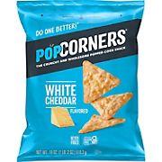 Popcorners Chips White Cheddar Snacks, 18 oz.
