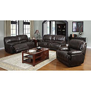 Kian Motion Charleston Collection Reclining 2 Piece Set with White Glove Delivery