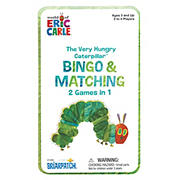 Eric Carle: The Very Hungry Catepillar Bingo & Matching Tin Game