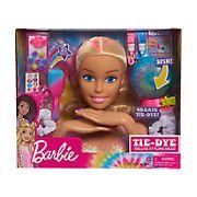 Barbie 22-Pc. Tie-Dye Deluxe Styling Head Doll