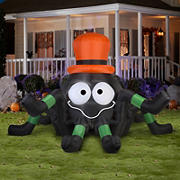 Gemmy Animated Airblown Inflatable Spider