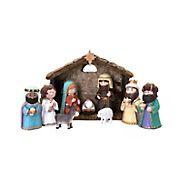 Berkley Jensen 11-Pc. Kid's Nativity Set With Creche