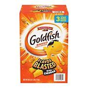 Goldfish Flavor Blasted Xtra Cheddar, 66 oz.