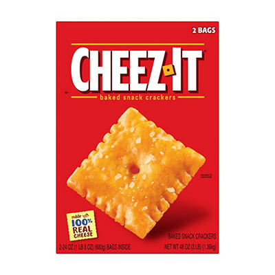 Cheez-It Crackers, 48 oz.
