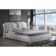 Global Furniture USA Alexa Queen Platform Bed - White