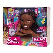 Barbie Tie-Dye Deluxe Styling Head Fashion Doll - Black Hair