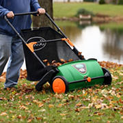 """Scotts 26"""" Push Lawn Sweeper and 3.6-Bushel Rear Collection Bag"""