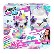 Airbrush Plush Tool, Stick-On-Stencils and Washable Makers - Unicorn