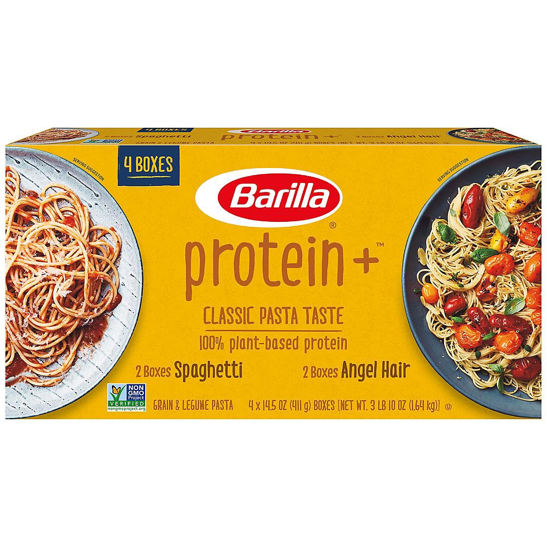 Barilla Plus Spaghetti and Plus Angel