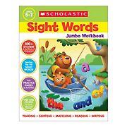 Scholastic Sight Words Jumbo Workbook: 300+ Practice Pages