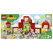 LEGO DUPLO Town Barn, Tractor and Farm Animal Care 10952 Building Toy, 97 pc.