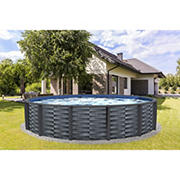 Affinity 24' Round Resin Swimming Pool Package