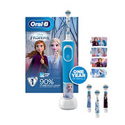 Oral-B Frozen II Kids Electric Toothbrush and Refills Value Pack