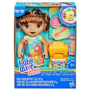 Baby Alive Snackin' Shapes Baby - Brown Hair