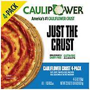 CAULIPOWER Cauliflower Pizza Crusts, 4 pk./22 oz.