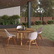 Amazonia Newark 5-Pc. Wood Outdoor Patio Dining Set