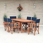 Amazonia Fremont 7-Pc. Wood Outdoor Patio Dining Set