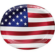 "Artstyle Beautiful America Performa Paper Plates 10""x12"", 35 ct."