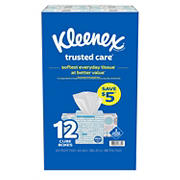 Kleenex Trusted Care Facial Tissues, 12 ct.