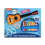 Blue's Clues Guitar and Play-Along Piano Combo Set