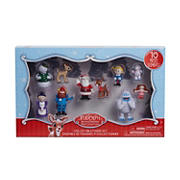 Rudolph The Red-Nosed 10-Pc. Reindeer Figure Set