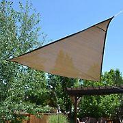Sol Armor 12' Triangle Shade Sail - Sequoia