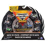 Monster Jam Mini Trucks, 10 pk.