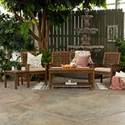W. Trends Hunter 5-Pc. Outdoor Chat Set