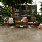 W. Trends Hunter 6-Pc. Outdoor Chat Set