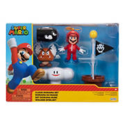 "Nintendo 2.5"" Figure Diorama Set - Super Mario Cloud"