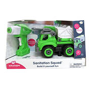 Edushape Break Apart RC Truck - Sanitation Squad