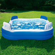 Blue Wave Premier Inflatable Pool with Cover