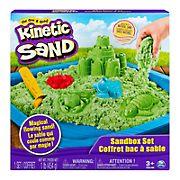 Kinetic Sand Sandbox Set - Green