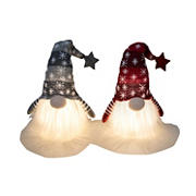 "Berkley Jensen 12"" Gnome With LED Light, 2 pk."
