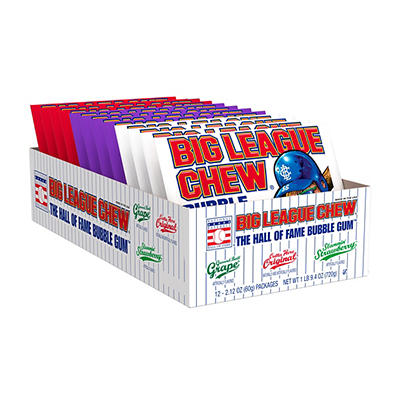 Big League Chew Bubblegum Club Pack Assortment Pouches