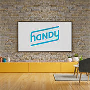 "Handy Brick/Fireplace TV Mounting Service, Under 55"" Premium"