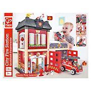 Hape Wood City Fire Station Playset