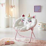Cuddly Crew Saucer Chair - Unicorn