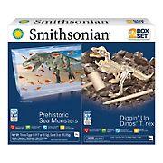 Smithsonian Science Kits, 2 pk. - Diggin' Up Dino T. Rex/Prehistoric Sea Monsters