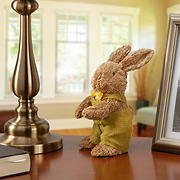 "National Tree Company 11"" Dapper Brown Bunny"