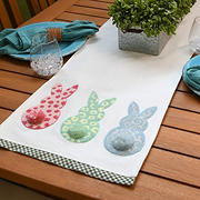 "National Tree Company 72"" Easter Bunny Table Runner"