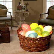 National Tree Company Battery Operated Easter Egg LED Light Strings, 2 pk.