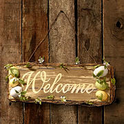 "National Tree Company 21"" Easter Welcome Sign"