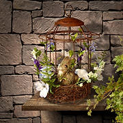 """National Tree Company 12"""" Easter Bird Cage"""